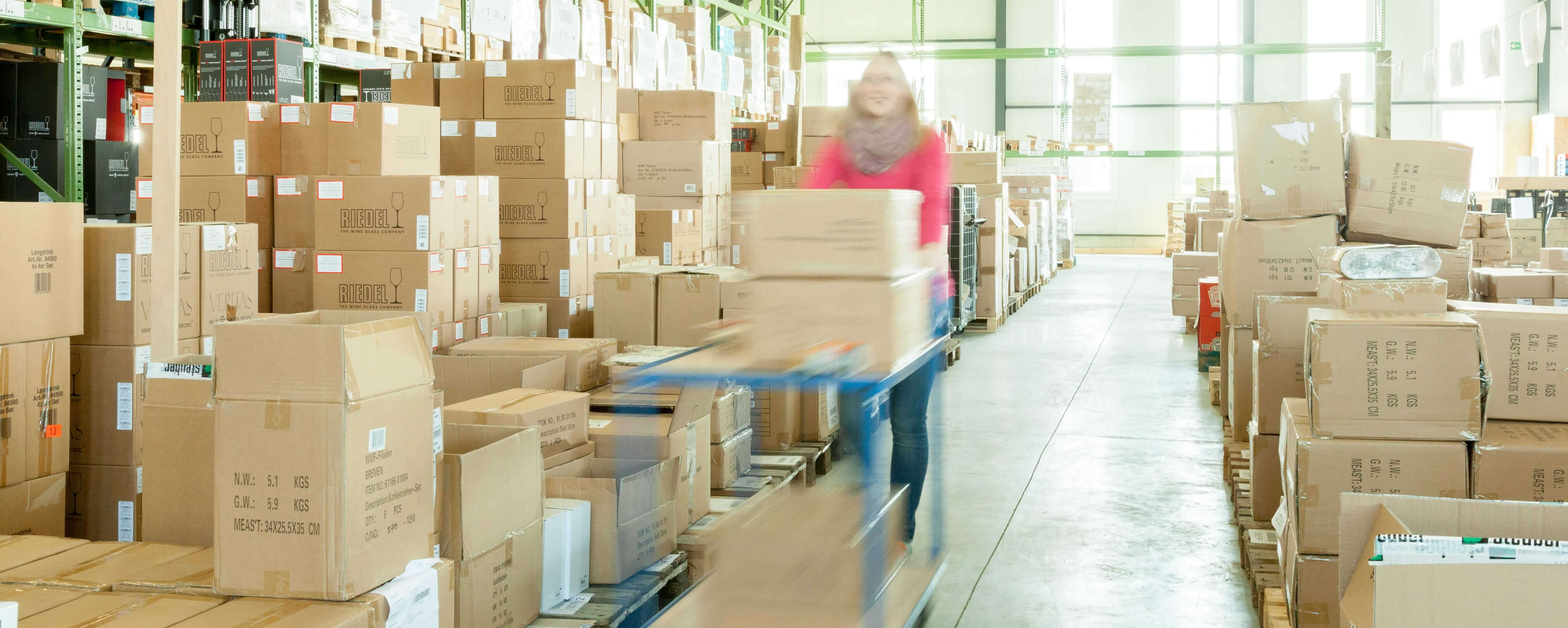 Online Shop Lager Fulfillment VersandDienst